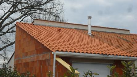 Raccord de toiture sur existant